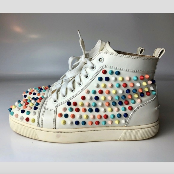 Christian Louboutin Shoes - Louboutin Louis Spikes Women s Sneakers Euro 37 2217583ca3